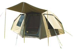 Safari Hexi Bow Tent  sc 1 st  C& Tent Hire & Safari Hexi Bow Tent | Camp Tent Hire